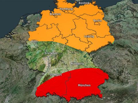 Unwetter-Alarm am Wochenende! Wo Sturmböen, Dauerregen und Hochwasser drohen
