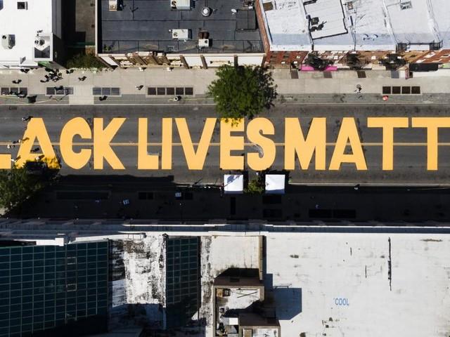 "Trump: Black Lives Matter-Schriftzug ist ""Symbol des Hasses"""