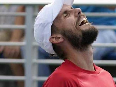 Nach Peter Gojowczyk hat es in Oscar Otte ein weiterer deutscher Qualifikant in das Achtelfinale der US Open geschafft.