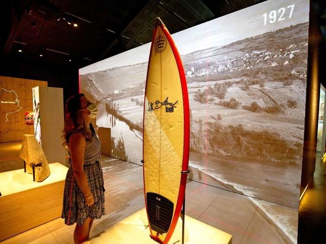 Neue Ausstellung im Haus der Geschichte: Stadt am Fluss hautnah
