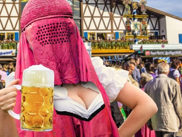 Neuartiges Burkdl ermöglicht strenggläubigen Musliminnen Oktoberfestbesuch
