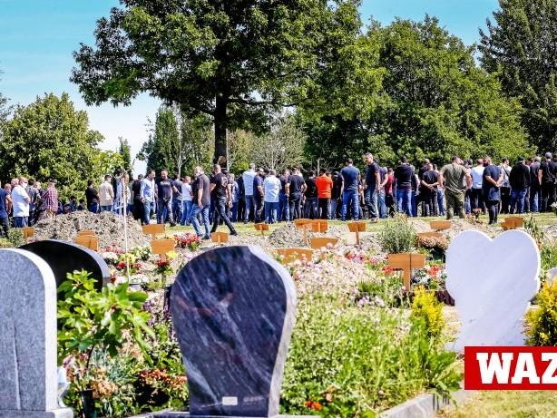 Clans: Clan-Beerdigung in Essen: 750 Trauerende - 150 sind erlaubt