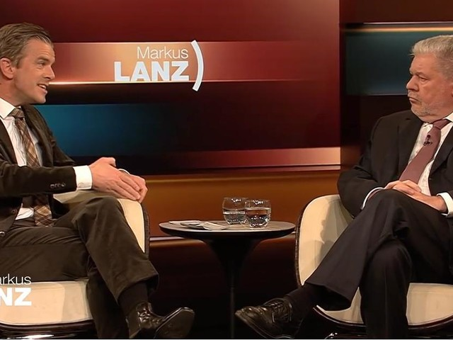"""TV-Kolumne """"Markus Lanz"""" - Markus Lanz hört sich so gerne reden, dass selbst Kurz Beck kaum zu Wort kommt"""