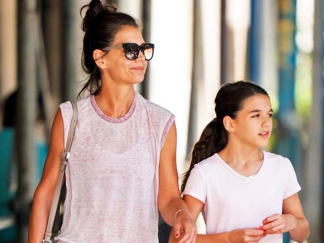 Katie Holmes: Katie Holmes und Tochter Suri bringen diesen Trend zurück