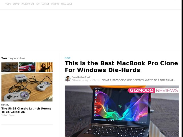This is the Best MacBook Pro Clone For Windows Die-Hards