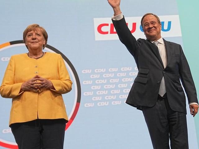 Wahlkampfauftakt für Laschet und die Union: Bitte lächeln