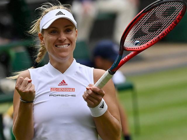 Tennis: Angelique Kerber steht im Wimbledon-Halbfinale