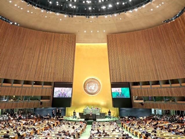 312 Parlamentarier werfen Uno systematische Diskriminierung Israels vor