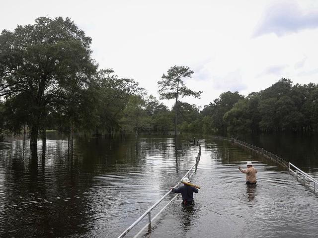 """Tropensturm """"Imelda"""" - Fünf Tote bei Überschwemmungen in Texas"""