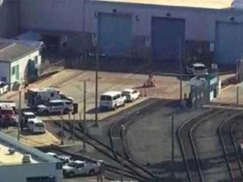 Kriminalität - Polizei: Neun Tote nach Schüssen an Zugdepot in Kalifornien