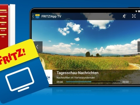 Fernsehen via FritzBox: Gratis App ermöglicht TV-Streaming auf Handy und Tablet