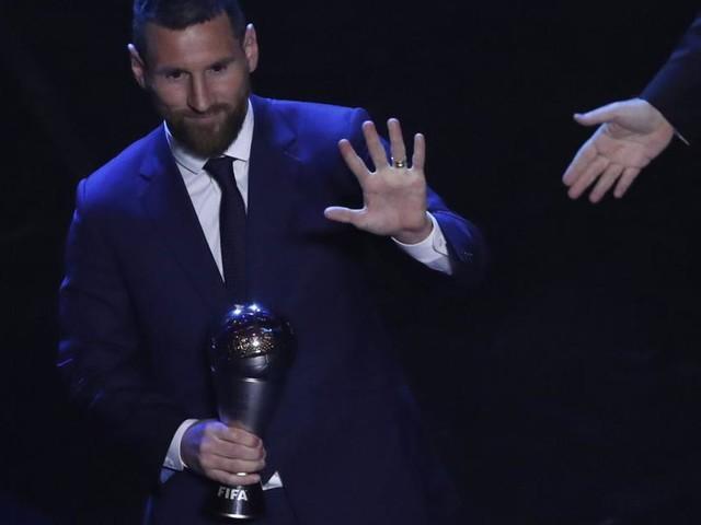 Lionel Messi überraschend zum FIFA-Weltfußballer 2019 gewählt