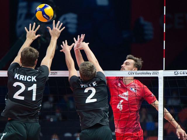 Volleyball: Volleyball-EM: Deutschland erreicht Achtelfinale