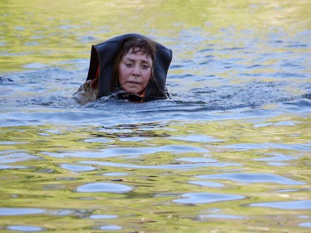 Dschungelcamp 2018: Tina York kurz vorm Ertrinken