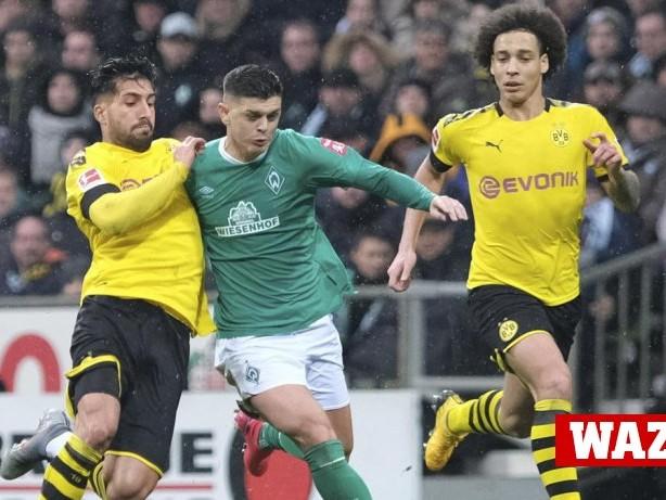 BVB-Einzelkritik: BVB-Noten: Zagadou stark, Can räumt auch in Bremen auf