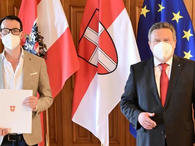 Ein bissl Message Control fürs Wiener Rathaus