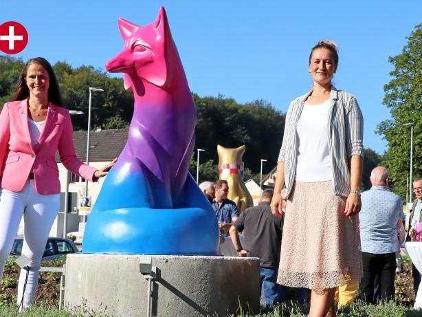 Kreisverkehr Kölner Straße: Ennepetal: Füchse setzen Zeichen für Vielfalt und Toleranz