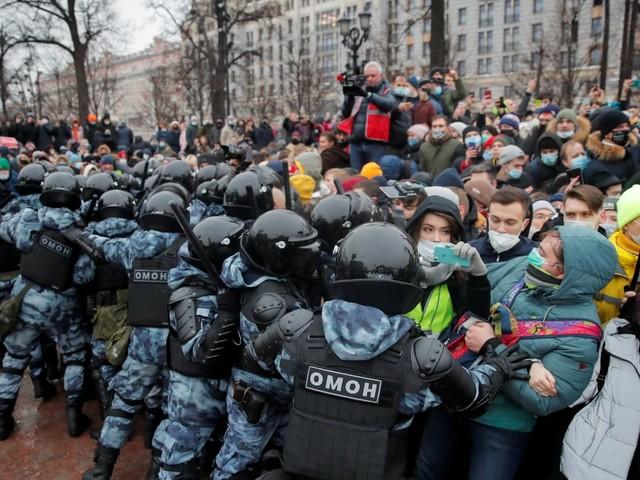 Russland: 2500 Unterstützer von Alexej Nawalny bei Demonstrationen festgenommen