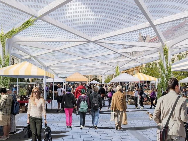Ein Konzept jagt das andere: Ideen-Basar für Wiener Markthalle