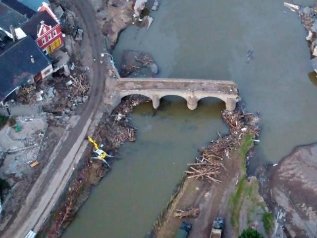 Drohnen-Video: Sechs Wochen nach der Flutkatastrophe: So sieht es heute im Ahrtal aus