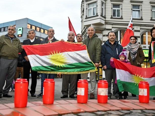 Demonstration: Polizei verstärkt Schutz für Kurden-Kundgebung in Bottrop