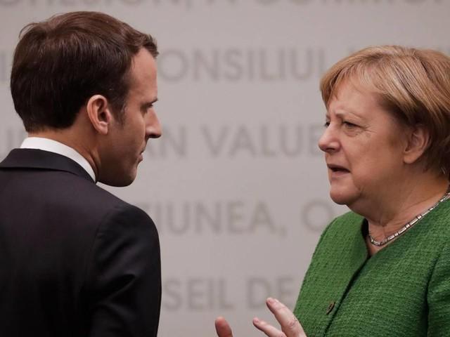 Kampf um EU-Spitzenposten: Merkel vs. Macron: Wer schafft den Punktsieg? Oder geht am Ende doch einer k.o.?