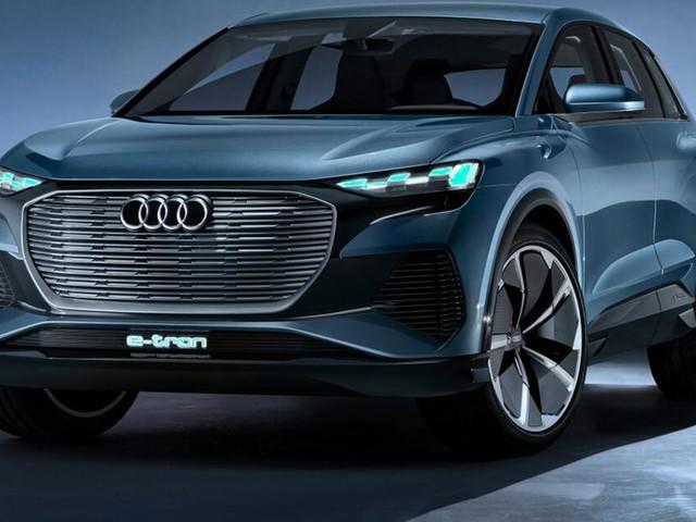 Audi Q4 e-tron concept: Kompakter Elektro-SUV mit Allradantrieb