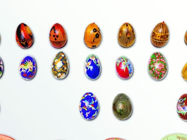 Willkommen im Eiermuseum: Schon einmal ein Dino-Ei gesehen?