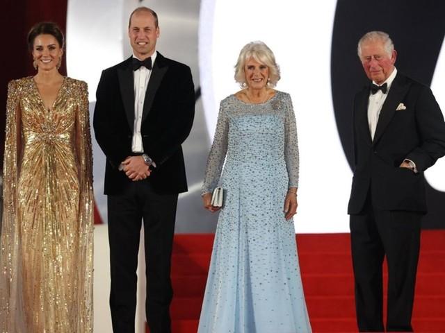 """Weltpremiere von """"Keine Zeit zu sterben"""": Vier britische Royals feiern neuen 007-Film"""