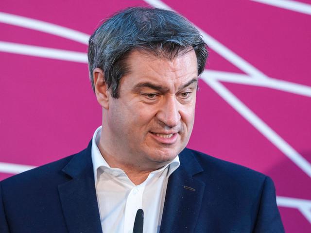 Kanzlerkandidat: Markus Söder äußert sich zur Kanzlerfrage in der Union