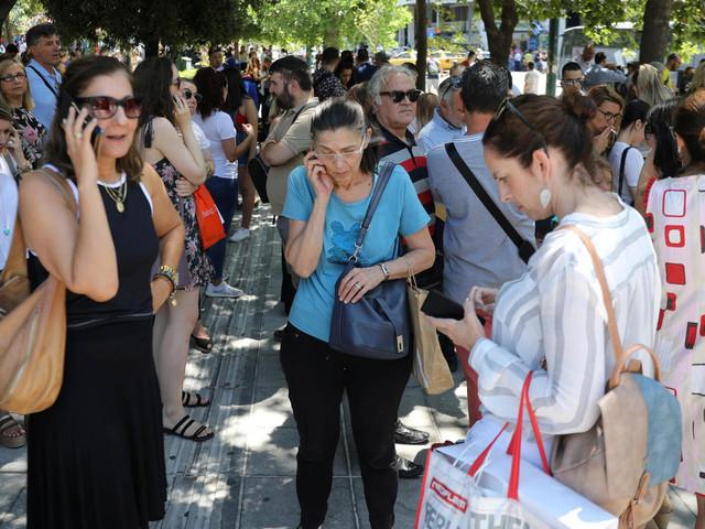 Athen: Erdbeben der Stärke 5, 1 erschüttert Griechenlands Hauptstadt