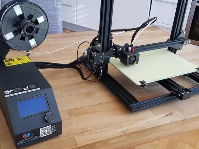 3D-Drucker: Creality3D CR-10 mini ausgepackt und aufgestellt