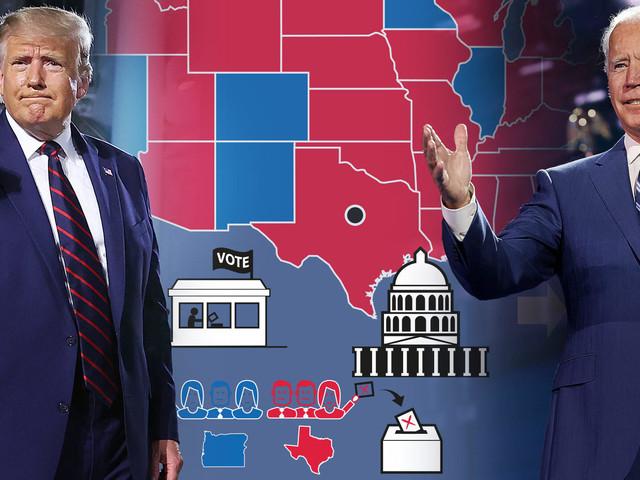 Donald Trump vs. Joe Biden – so brutal kann das US-Wahlsystem sein