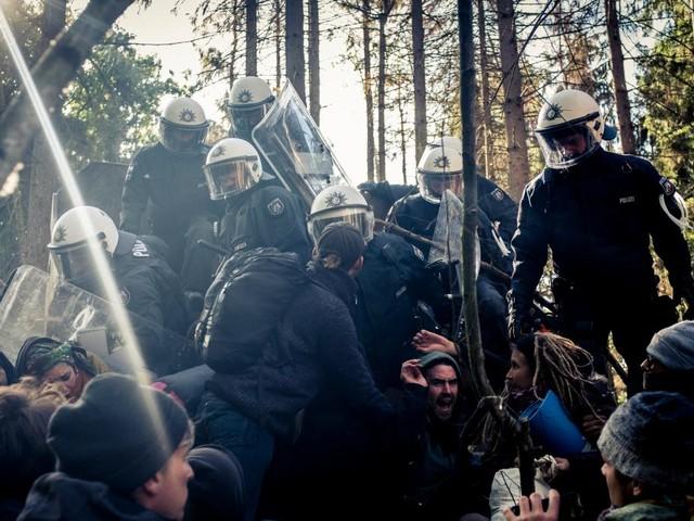 Polizei sieht neue Qualität der Gewaltbereitschaft im Hambacher Forst