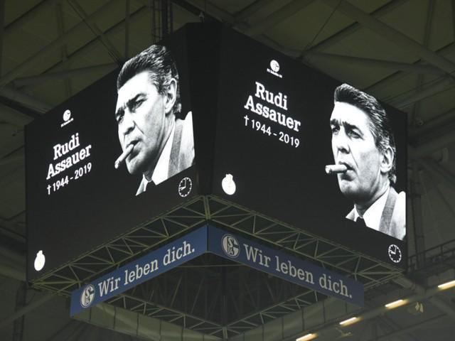 """Abschied von Assauer: """"Ohne Rudi wären wir alle nicht hier"""""""