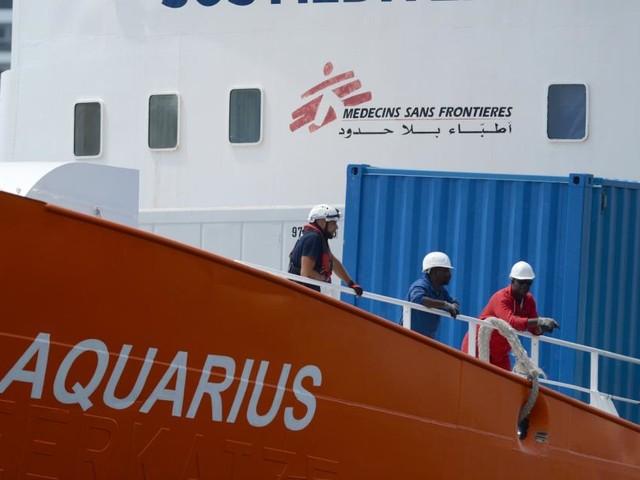 """Flüchtlingsrettungsschiff """"Aquarius"""" beendet Einsatz"""