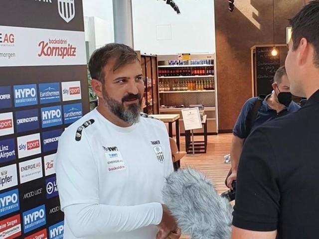 """LASK-Trainer Wieland: """"Die Spieler hinterfragen sich selbst"""""""