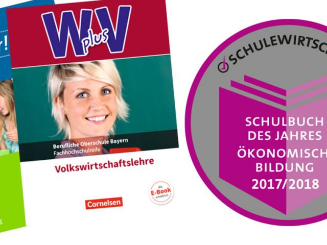 Staatssekretärin Gleicke zeichnet Cornelsen- und Oldenbourg-Lehrwerke mit dem SCHULEWIRTSCHAFT-Preis aus