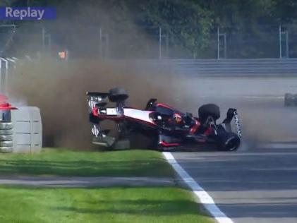 Formel 3: Doohan jr. crasht Der wilde Überschlag im Video