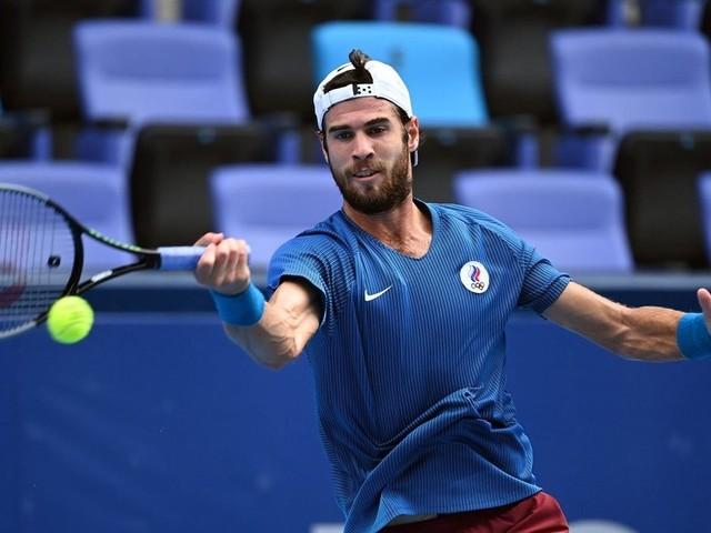 Chatschanow spielt als Überraschungsfinalist um Tennis-Gold