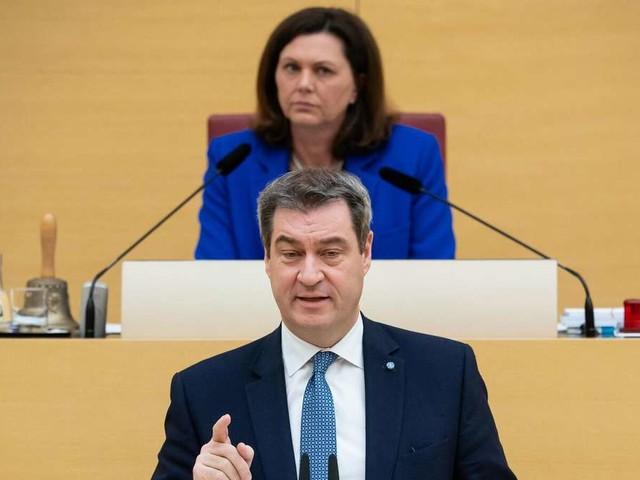 """Söder macht Parteifreundin """"Antrag"""": Sie lehnt irritiert ab - und benutzt seine Floskel"""