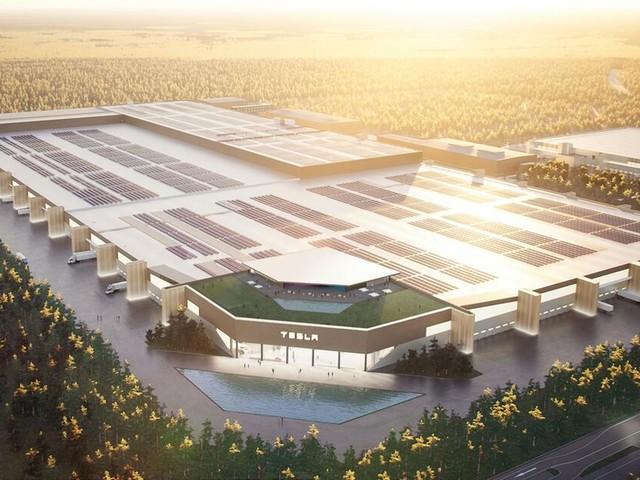 Tesla-Chef Musk stellt bei Twitter die geplante Fabrik bei Berlin vor