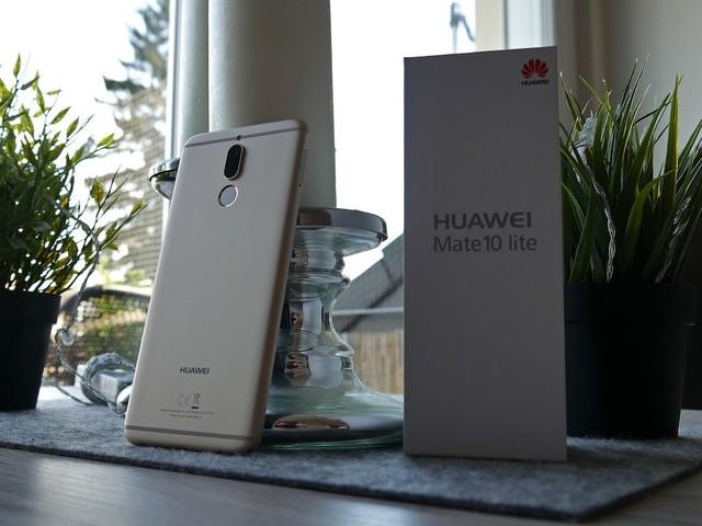 Huawei Mate 10 lite: Update mit Face Unlock wird langsam verteilt