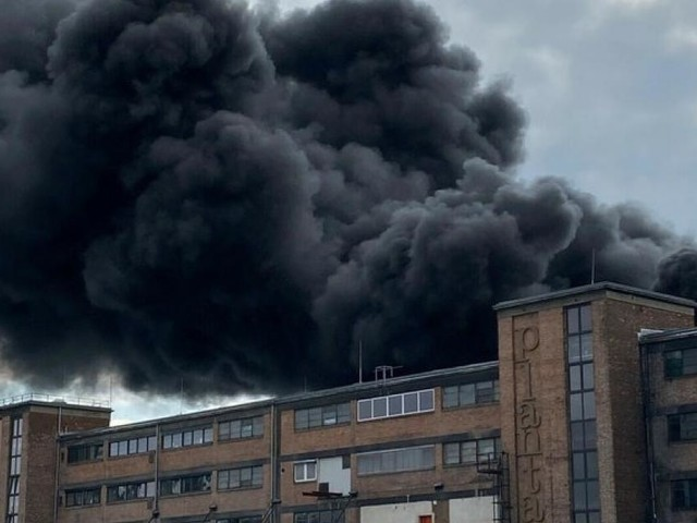 Traiskirchen: Großbrand am Semperit-Areal