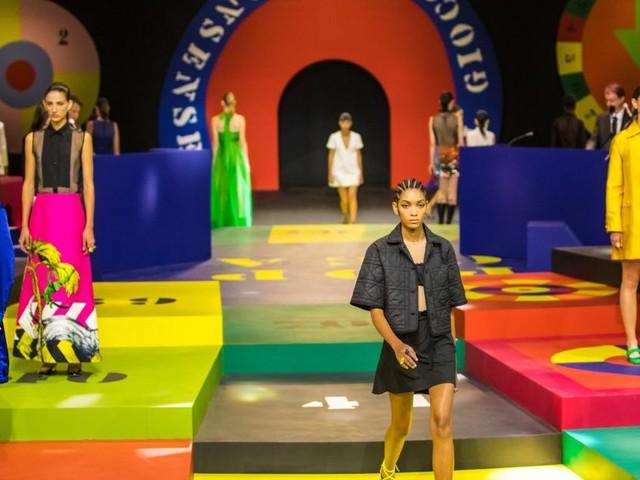 Fashion Week in Paris: Dior präsentierte Mode auf dem Spielbrett