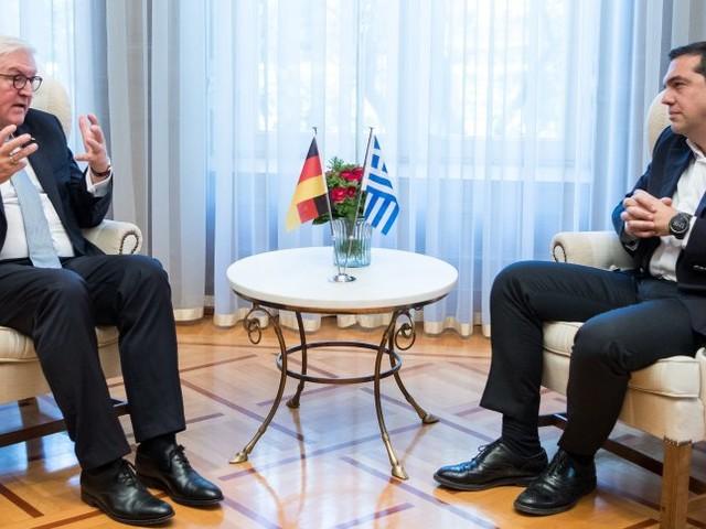 Bundespräsident in Athen: Steinmeier bittet um Verzeihung für Nazi-Verbrechen