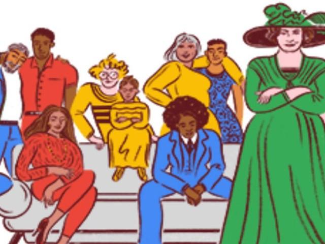 Google Doodle - Helene Stöcker kämpfte für die sexuelle Befreiung der Frauen