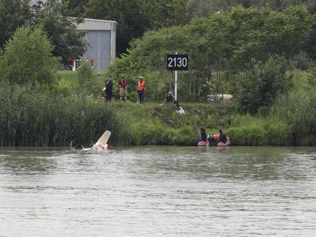Segelflieger stürzte in Linz in die Donau