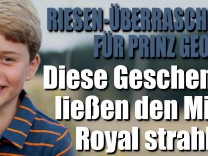Prinz George: Diese Geburtstagsgeschenke ließen den Mini-Royal strahlen