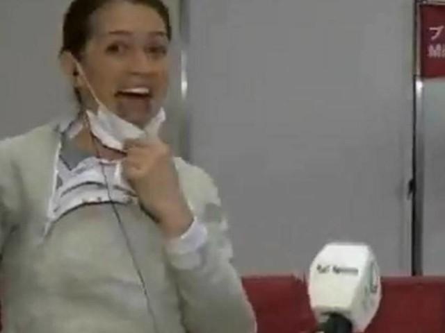Fast wie Max Kruse: Live-Heiratsantrag für Olympia-Fechterin